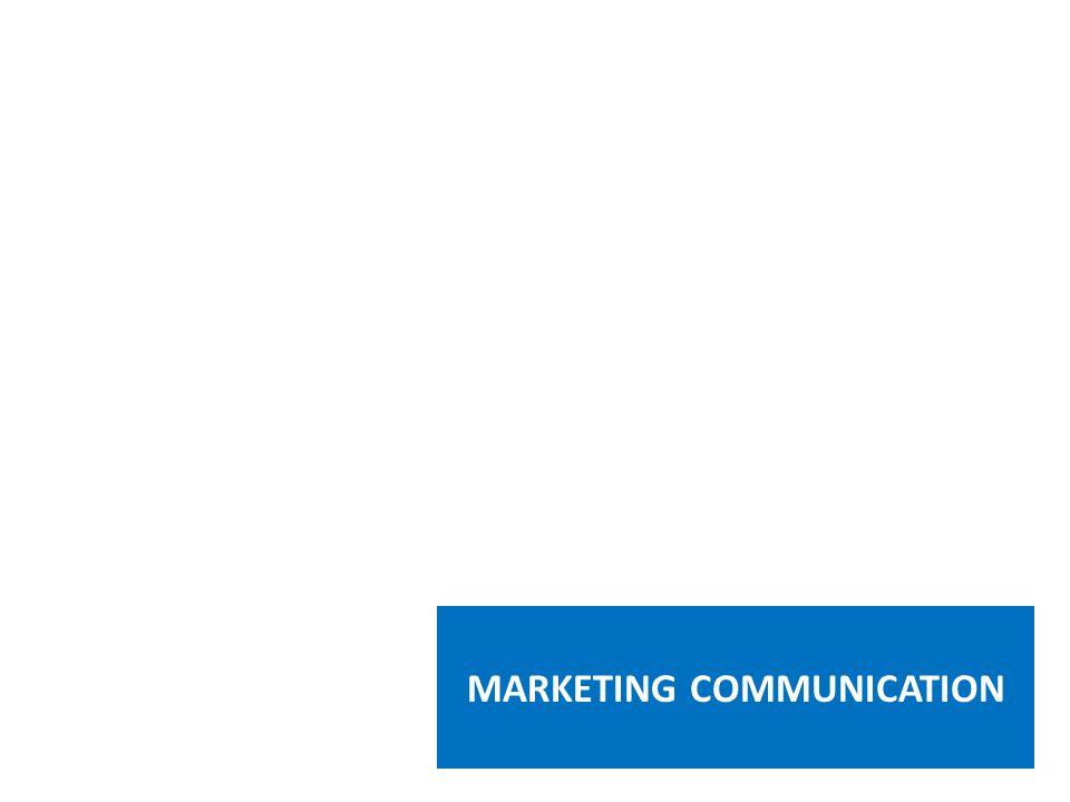 Marketing Communication adalah aplikasi komunikasi yang bertujuan untuk membantu kegiatan pemasaran sebuah perusahaan WHAT IS MARKETING COMMUNICATION Aplikasi tersebut sangat dipengaruhi oleh berbagai bentuk media yang digunakan, daya tarik pesan, dan frekuensi penyajian.