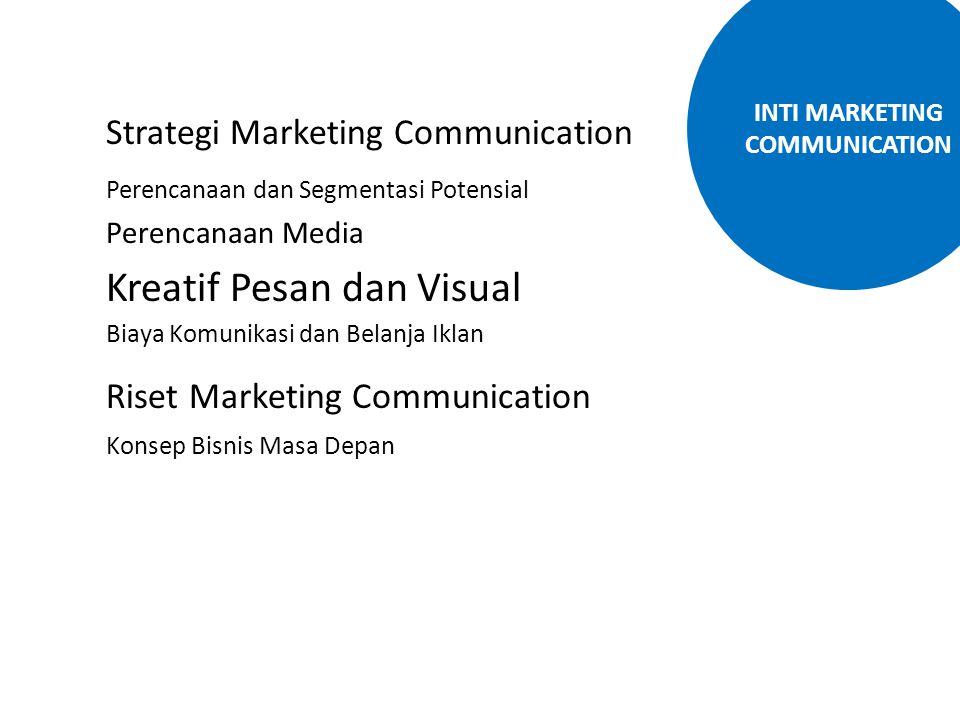 Strategi Marketing Communication Perencanaan dan Segmentasi Potensial Perencanaan Media Kreatif Pesan dan Visual Biaya Komunikasi dan Belanja Iklan Ri