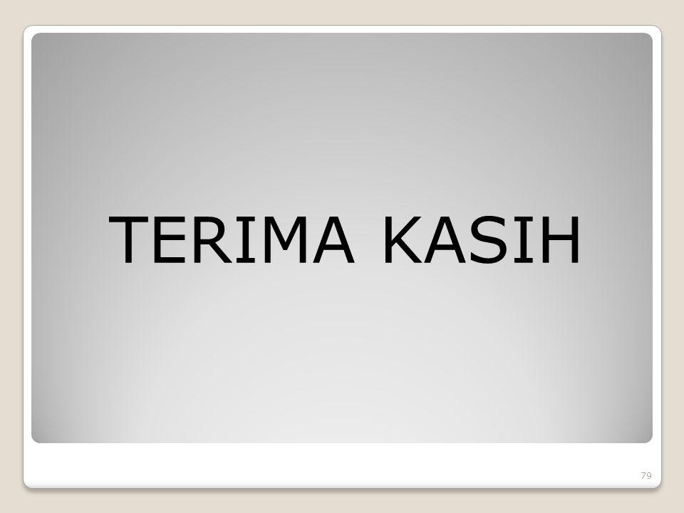 TERIMA KASIH 79