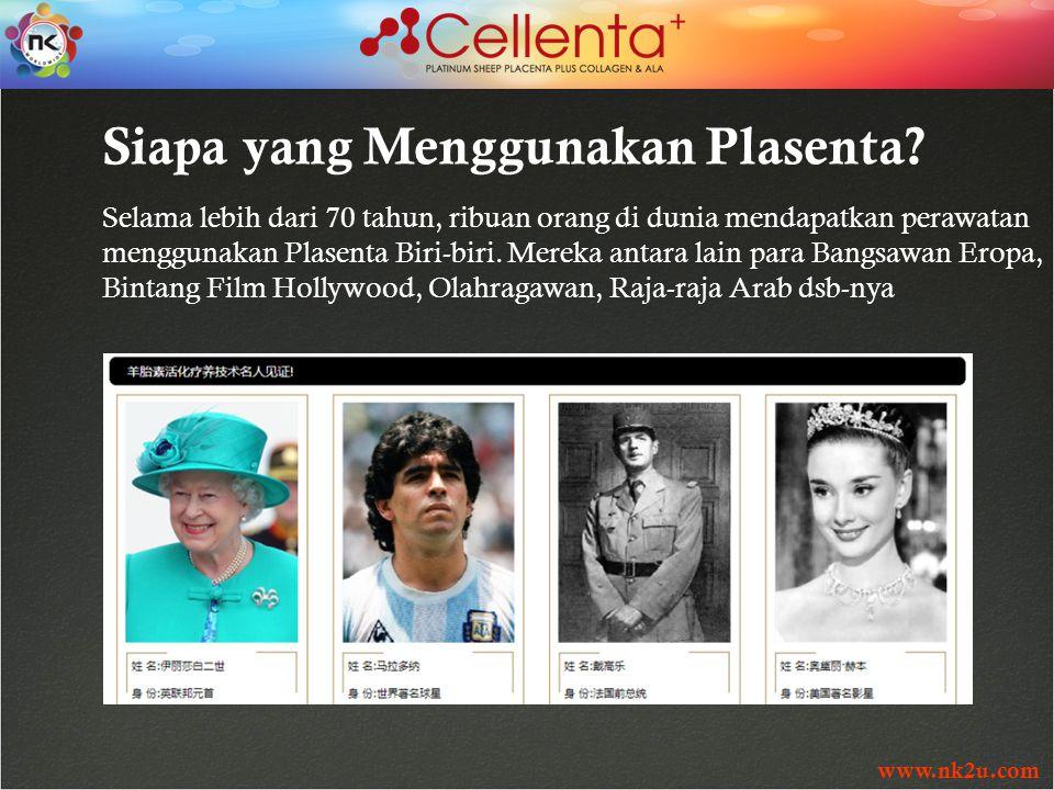 www.nk2u.com Siapa yang Menggunakan Plasenta.