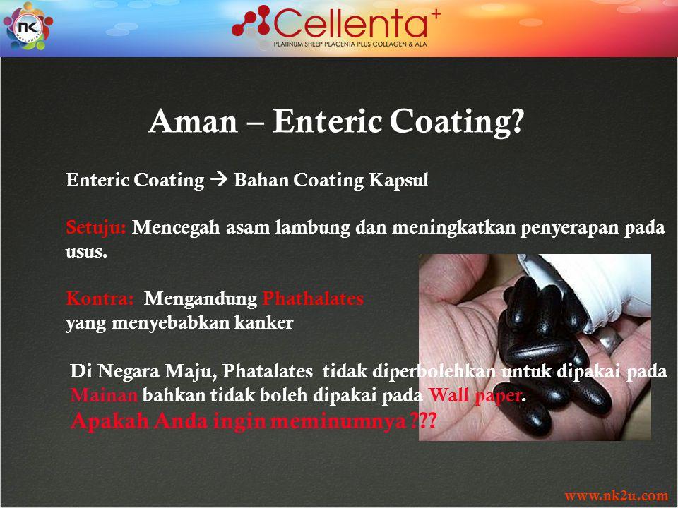 www.nk2u.com Aman – Enteric Coating.