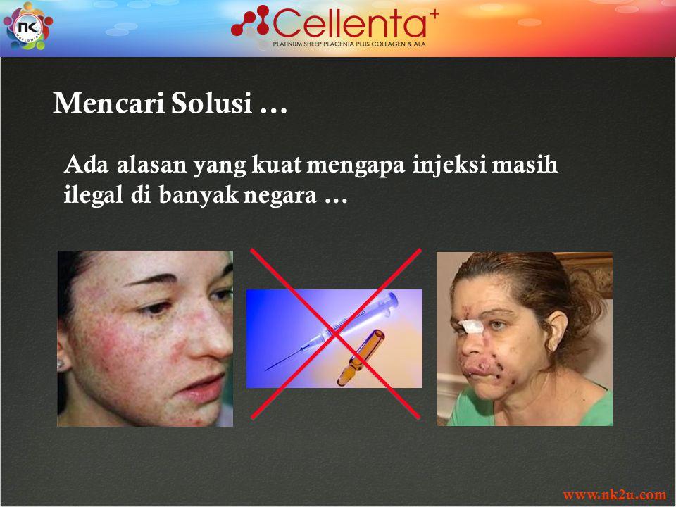 www.nk2u.com Mencari Solusi … Ada alasan yang kuat mengapa injeksi masih ilegal di banyak negara …