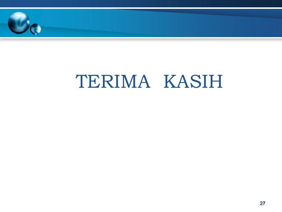 TERIMA KASIH 27
