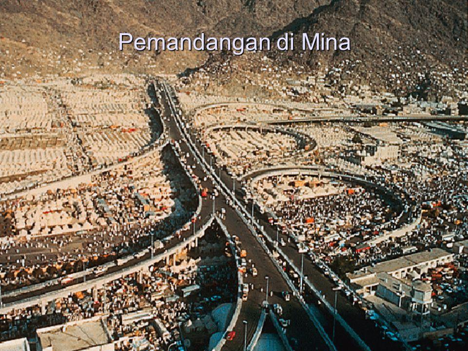 Pemandangan di Mina