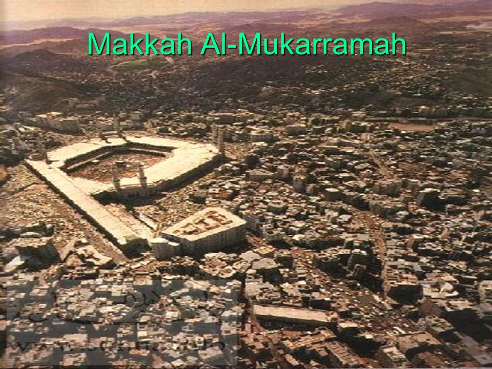 Keutamaan Kota Makkah 1.Tanah Haram (Kota Suci ) يَا أَيُّهَا النَّاسُ إِنَّ اللَّهَ حَرَّمَ مَكَّةَ يَوْمَ خَلَقَ السَّمَوَاتِ وَالْأَرْضَ فَهِيَ حَرَامٌ إِلَى يَوْمِ الْقِيَامَةِ لَا يُعْضَدُ شَجَرُهَا وَلَا يُنَفَّرُ صَيْدُهَا وَلَا يَأْخُذُ لُقْطَتَهَا إِلَّا مُنْشِدٌ Sesungguhnya negeri ini telah Allah haramkan pada saat diciptakan langit dan bumi.