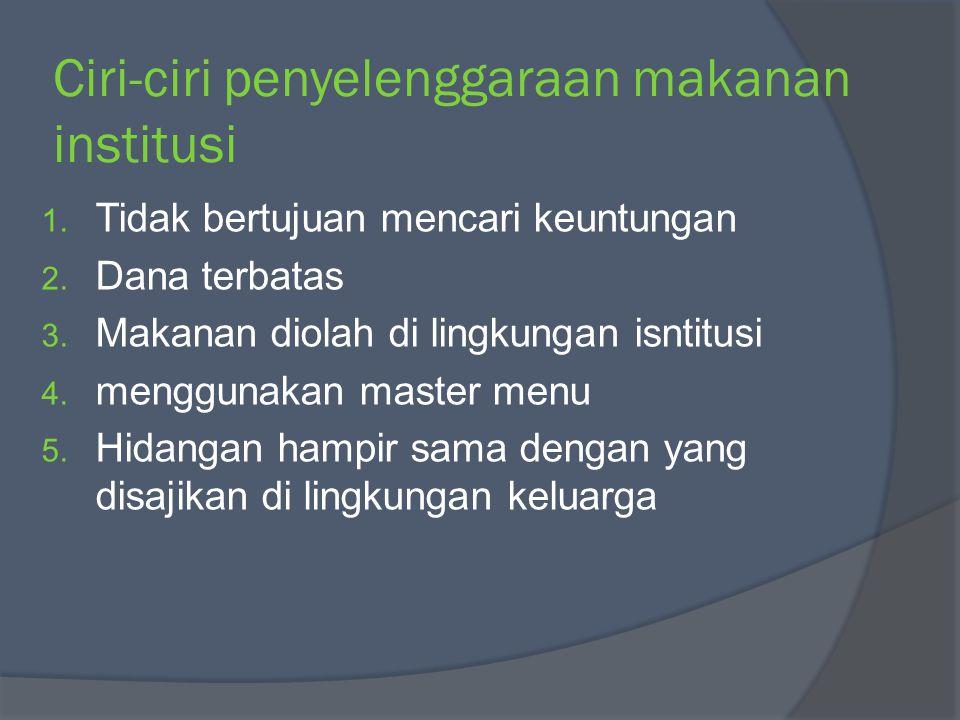 PERSYARATAN KESEHATAN MAKANAN 1.Persyaratan bahan makanan 2.
