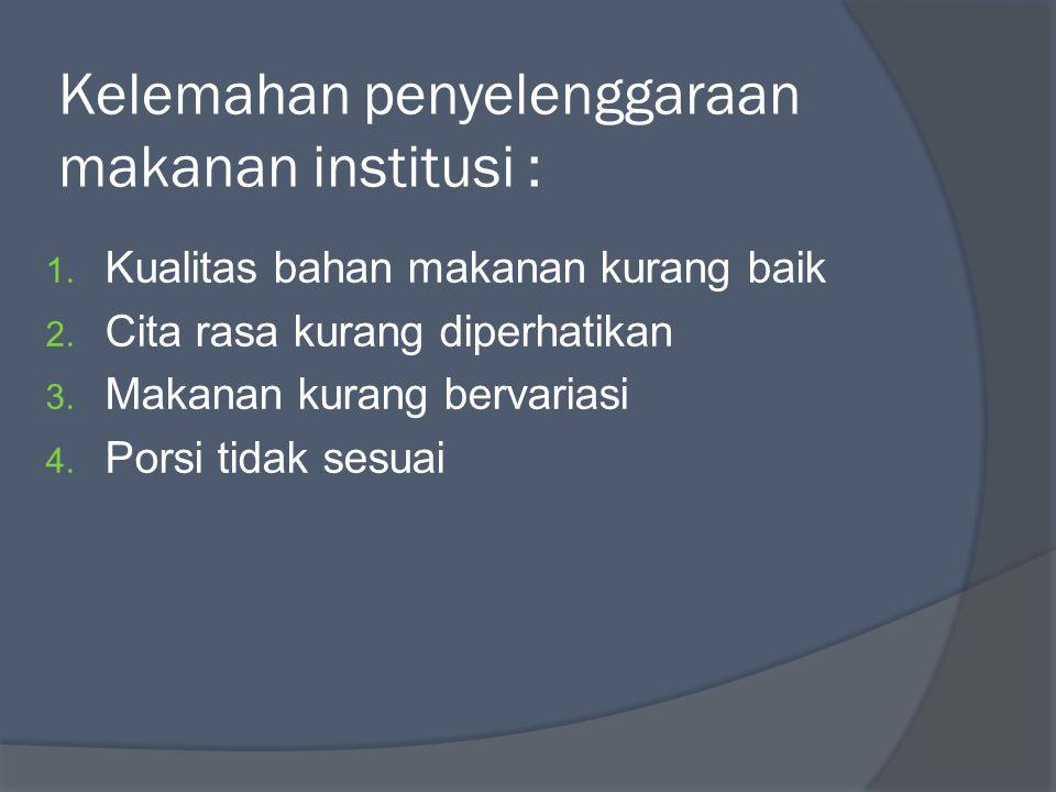 PERSYARATAN KESEHATAN PENGOLAH MAKANAN 1.Kesehatan tenaga kerja pengolah makanan 2.