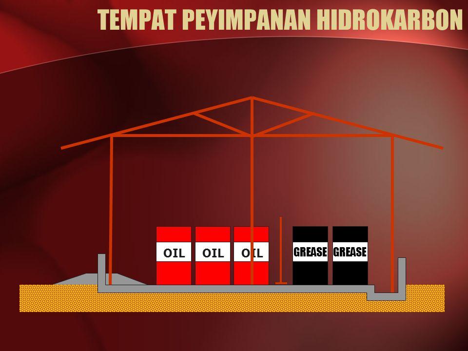TEMPAT PEYIMPANAN HIDROKARBON OIL GREASE