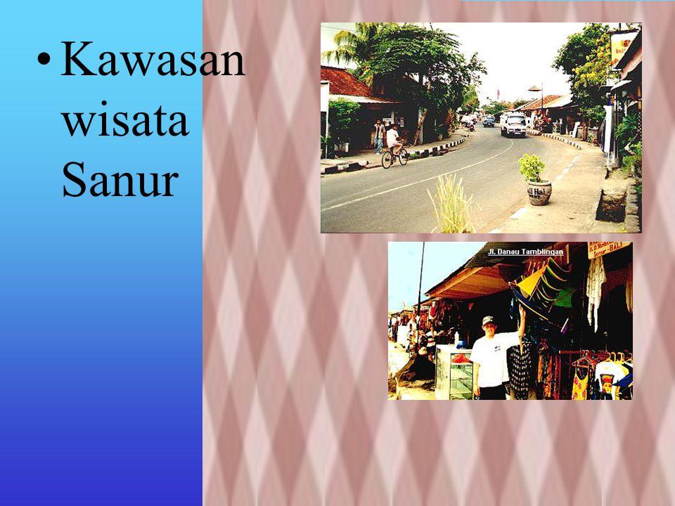 Kawasan pantai di kota Denpasar meliputi 5 Desa dan 4 Kelurahan Kawasan pantai di Kecamatan Denpasar Selatan dan Kecamatan Denpasar Timur Panjang pant