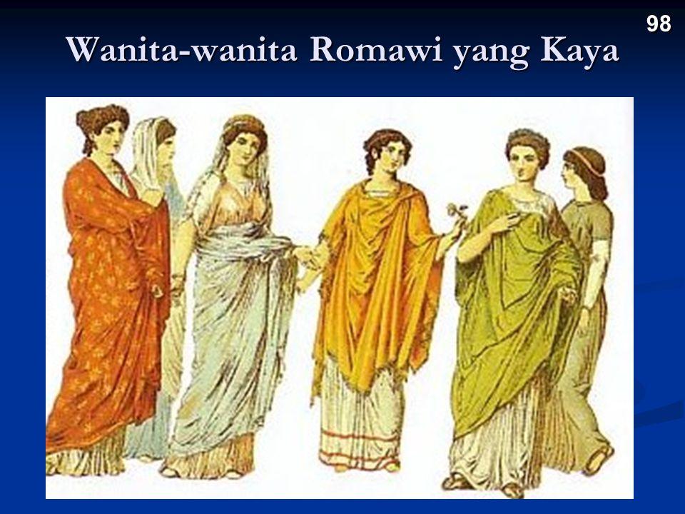 Wanita-wanita Romawi yang Kaya 98