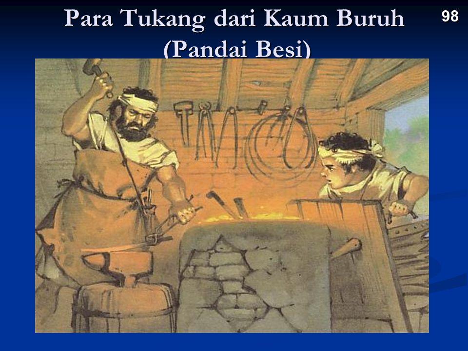 Para Tukang dari Kaum Buruh (Pandai Besi) 98