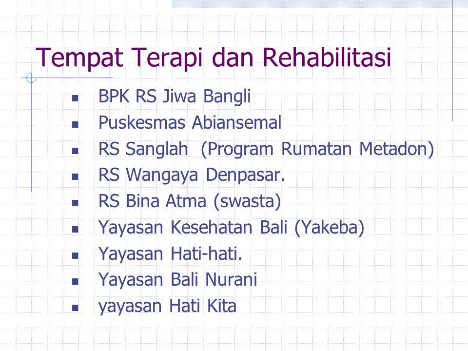 PROGRAM PENANGGULANGAN PENYALAHGUNAAN NARKOBA Dikoordinir oleh BNP 3 Pusat : Represif Preventif Terapi dan Rehabilitasi Masing2 Pusat membuat program
