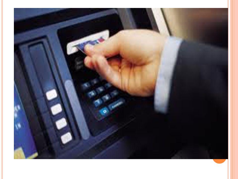 T RANSAKSI MODEL ATM Yang menyangkut institusi financial, pemegang account dan merchant.