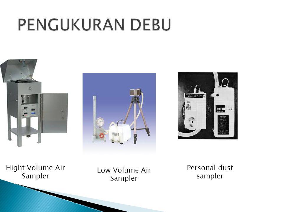 Hight Volume Air Sampler Low Volume Air Sampler Personal dust sampler