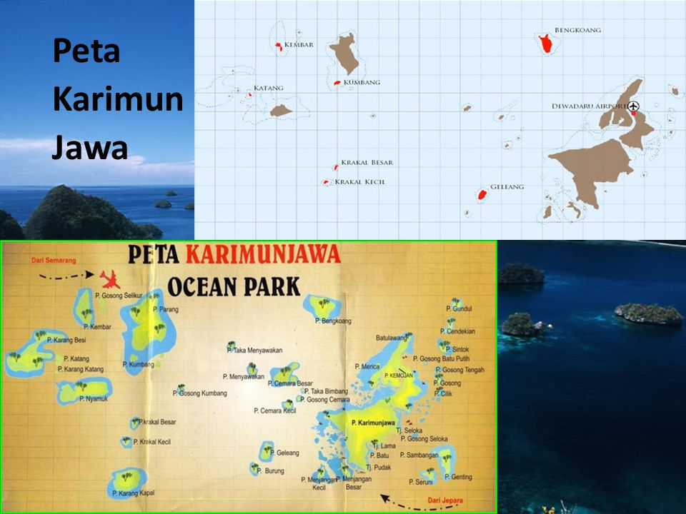 Peta Karimun Jawa