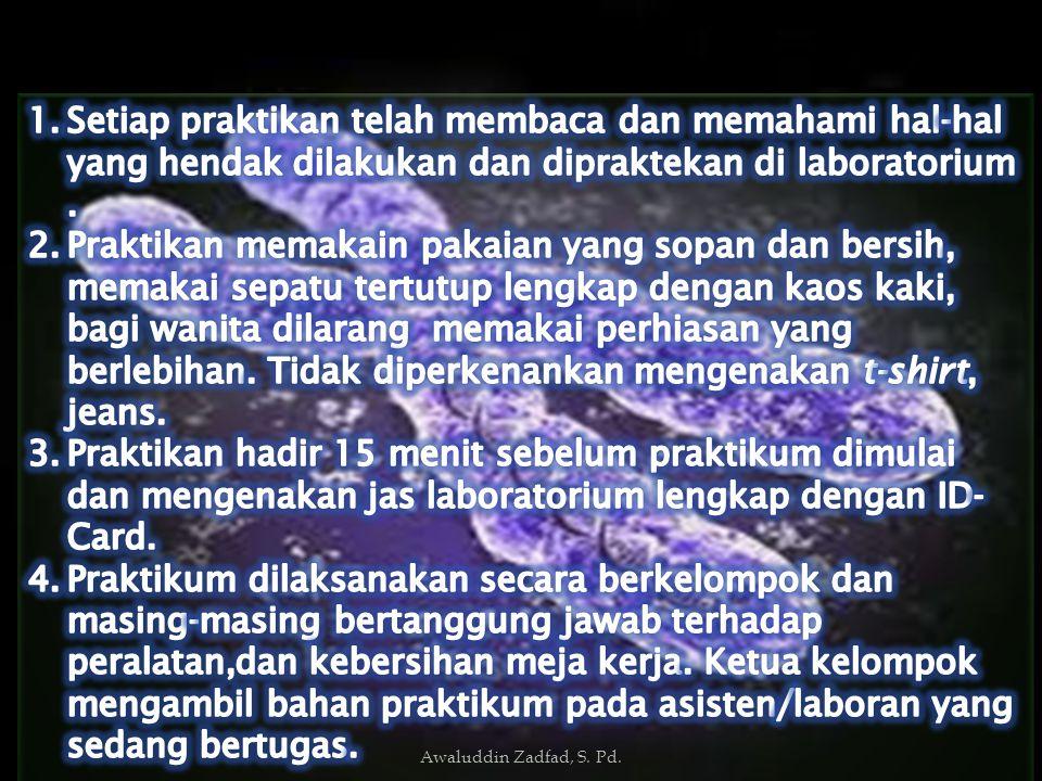 Awaluddin Zadfad, S. Pd.