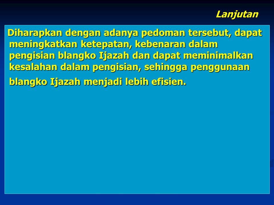 SEKIAN DAN TERIMA KASIH SEMARANG, 7 JUNI 2013