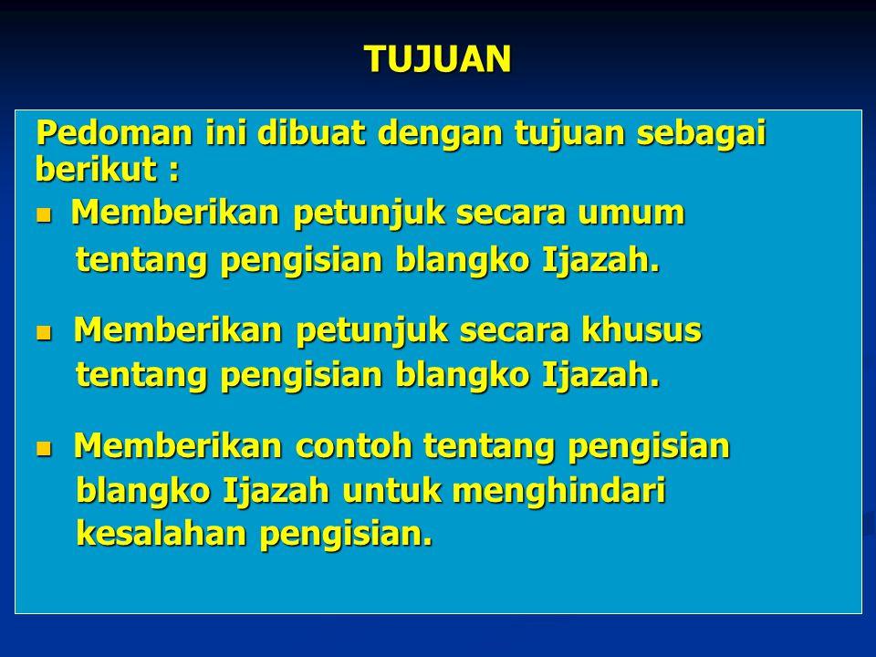 Lanjutan 13.Nomor kode diisi nomor kode Provinsi Jawa Tengah.