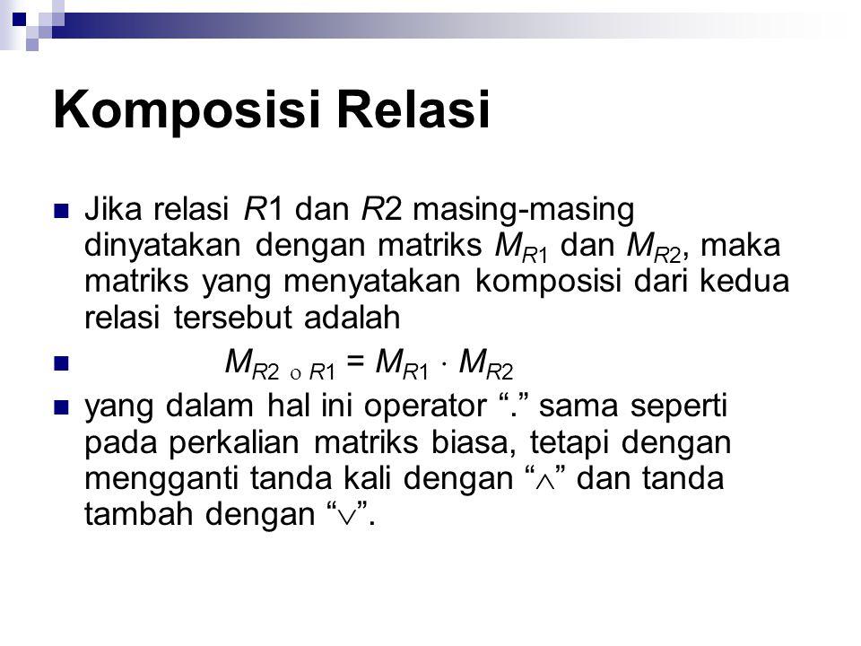 Komposisi Relasi Contoh 20.