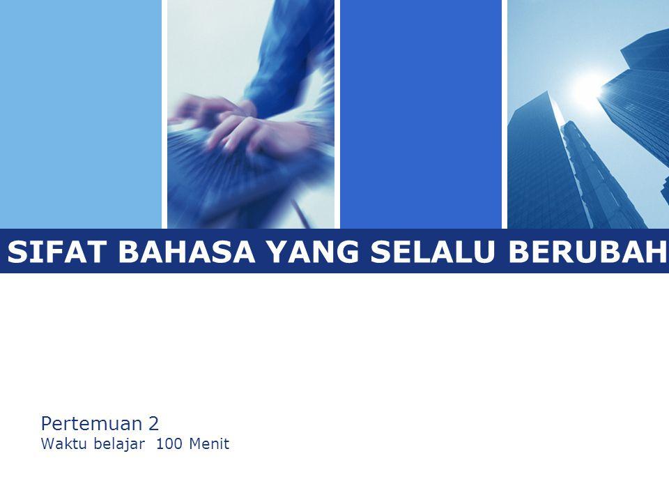 L o g o  Tingkat kemampuan berbahasa Indonesia masyarakat Indonesia sangat beragam.