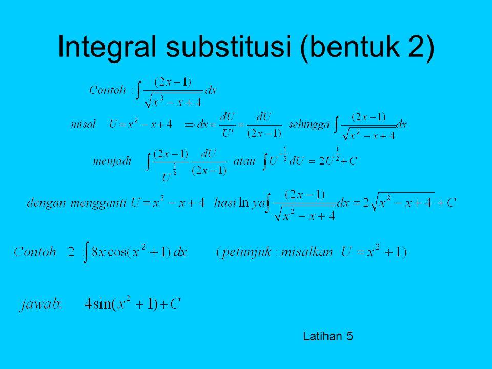 Integral trigonometri LATIHAN 4