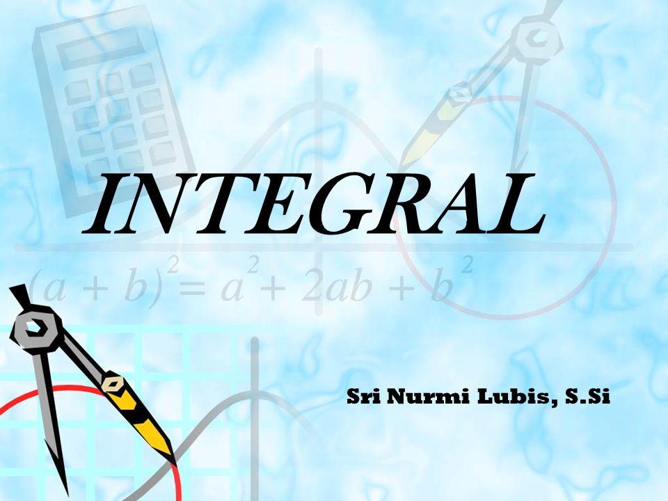 INTEGRAL Sri Nurmi Lubis, S.Si