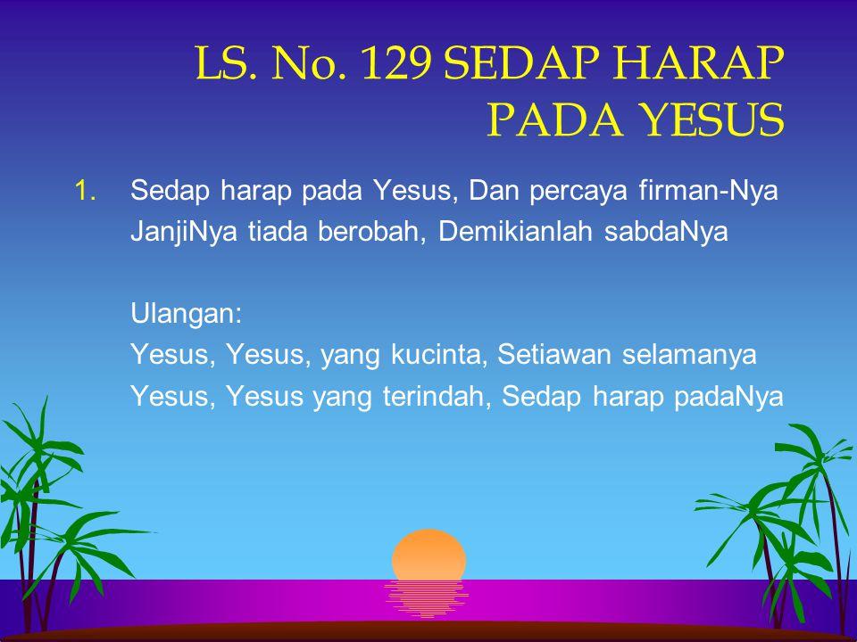 JADILAH ORANG YANG DAPAT MEWARISKAN IMAN Week of Prayer: SLA/PTASN, Pematangsiantar Jumat Pagi, 02 Nopember 2007