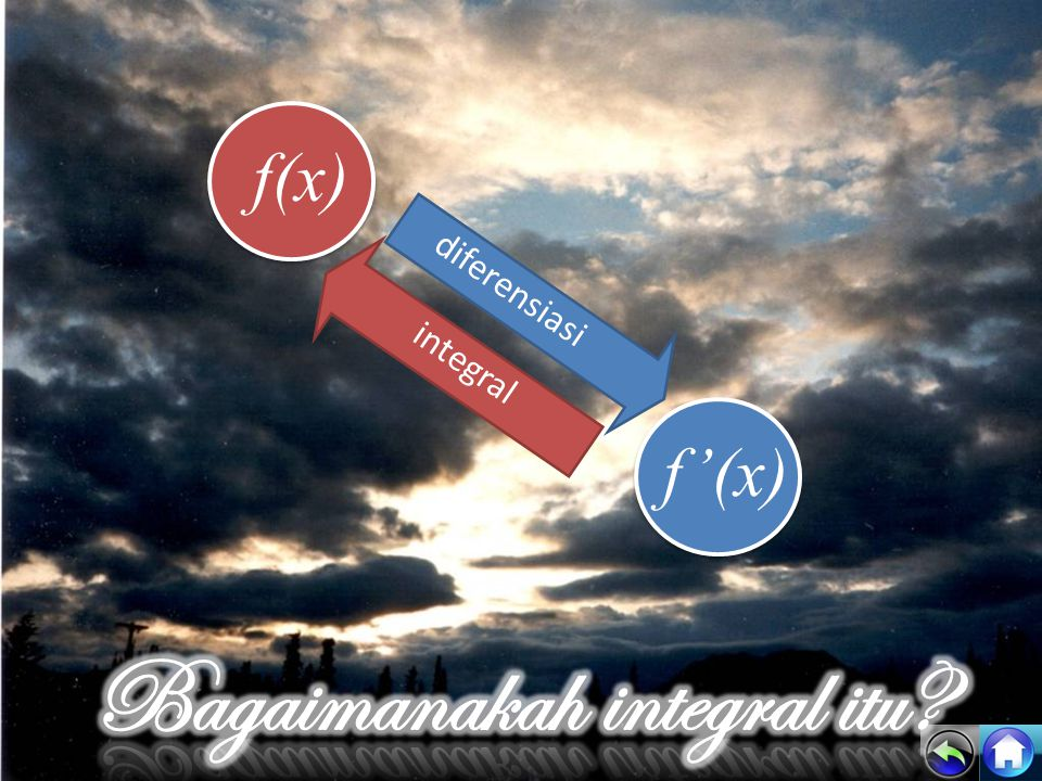 f(x) f'(x) diferensiasi integral
