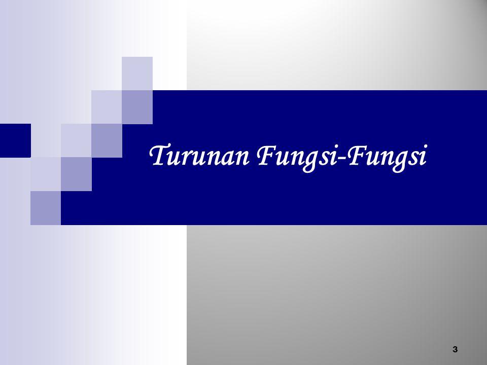 Turunan Fungsi-Fungsi 3