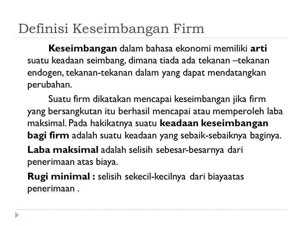 Kemungkinan-kemungkinan Firm Yang Bekerja Saat Decreasing Cost a.