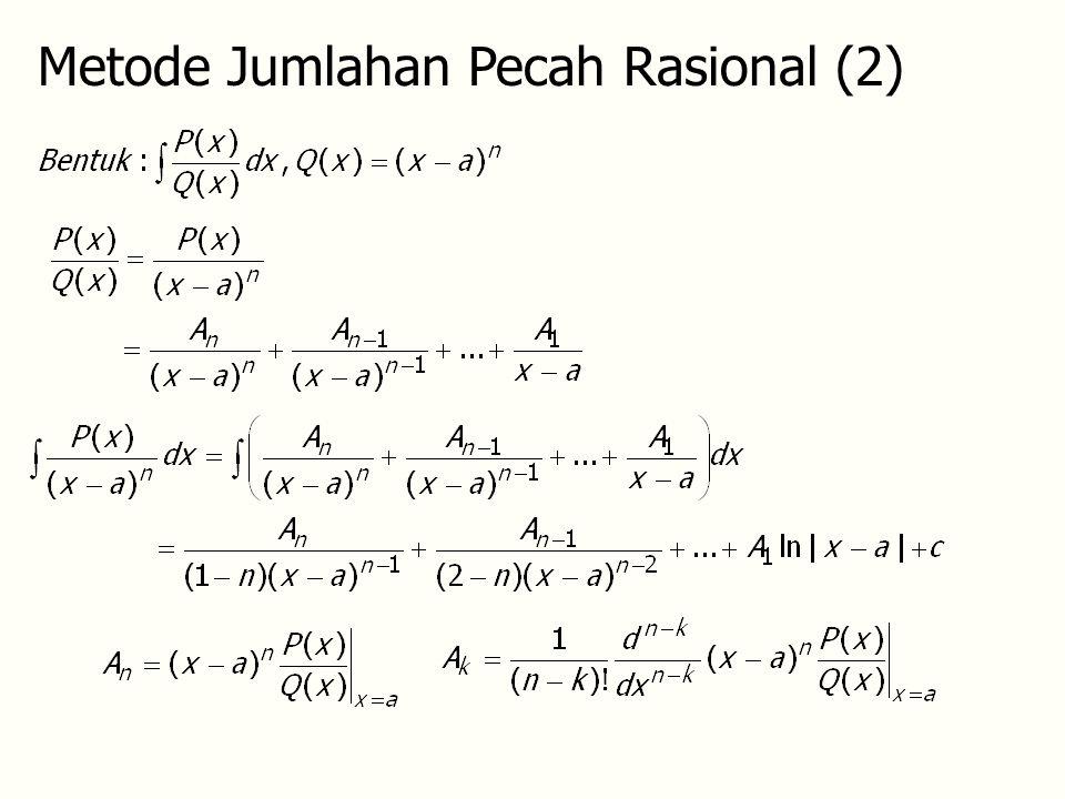 Metode Jumlahan Pecah Rasional (2)
