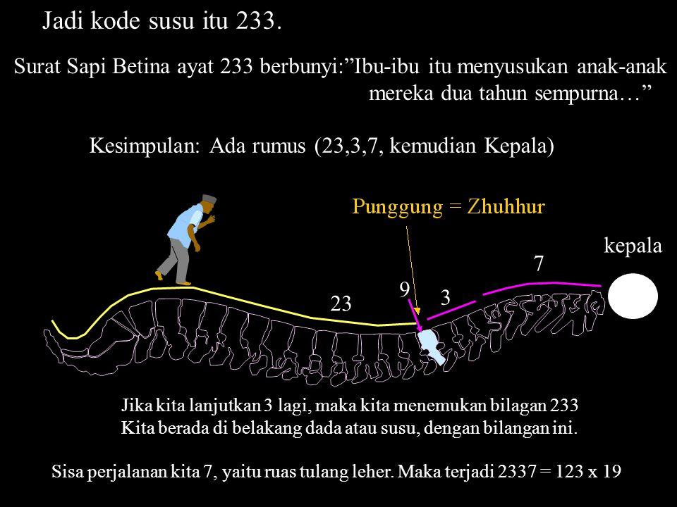 Kita katakan bahwa untuk N = 5, rumus 2NN berlaku untuk Menjelaskan Kursi kepada kita. Dimana 25 ~255. Bilangan 255 ini adalah bilangan ayat tempat ay