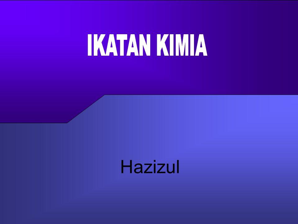 Anim Hadi Susanto 08563559009 Elektron yang dipakai bersama Tertarik kearah F bukan H, karena Keelektronegatifan F > H tekan 2.