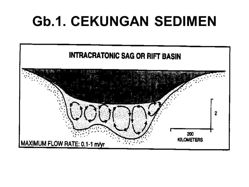 PENGISIAN SEDIMEN 1.Cekungan dapat juga dikarakterisasi oleh sedimen yang mengisinya.
