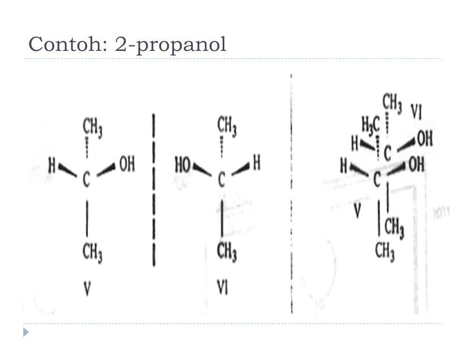 Contoh: 2-propanol