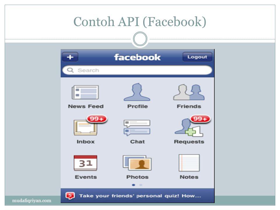 Contoh API (Twitter) mudafiqriyan.com