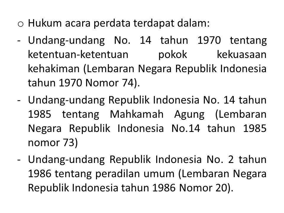-Undang-undang Republik Indonesia No.