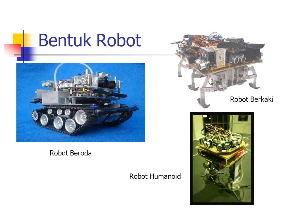 Bentuk Robot Robot Beroda Robot Humanoid Robot Berkaki