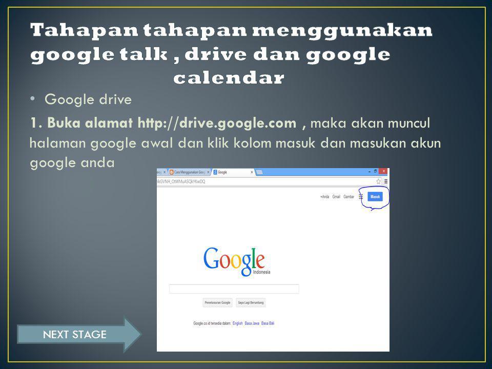 Google drive 1.