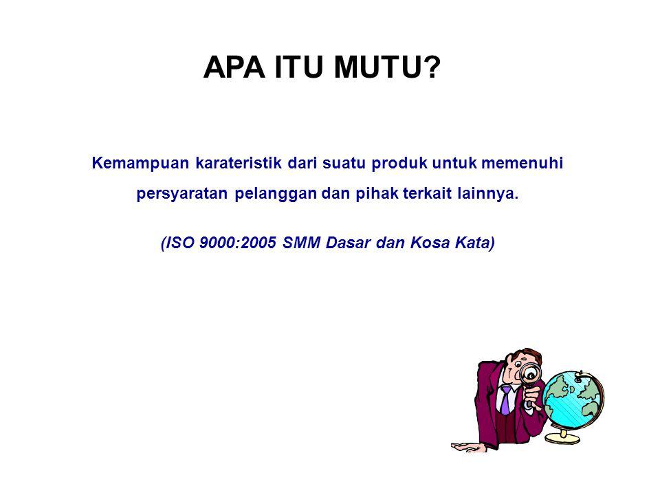 ISO 9001:2008 merupakan edisi ke-4 dari seri ISO 9001 yang dipublikasi pada 14 November 2008.
