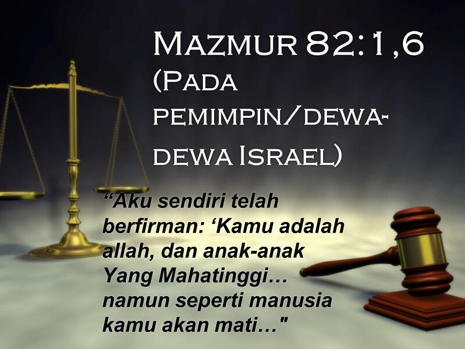 Matius 18:19 Dan lagi, Aku berkata kepadamu: jika dua orang dari padamu di dunia ini sepakat meminta apapun juga, permintaan mereka itu akan dikabulkan oleh Bapa-Ku yang di sorga (TB).