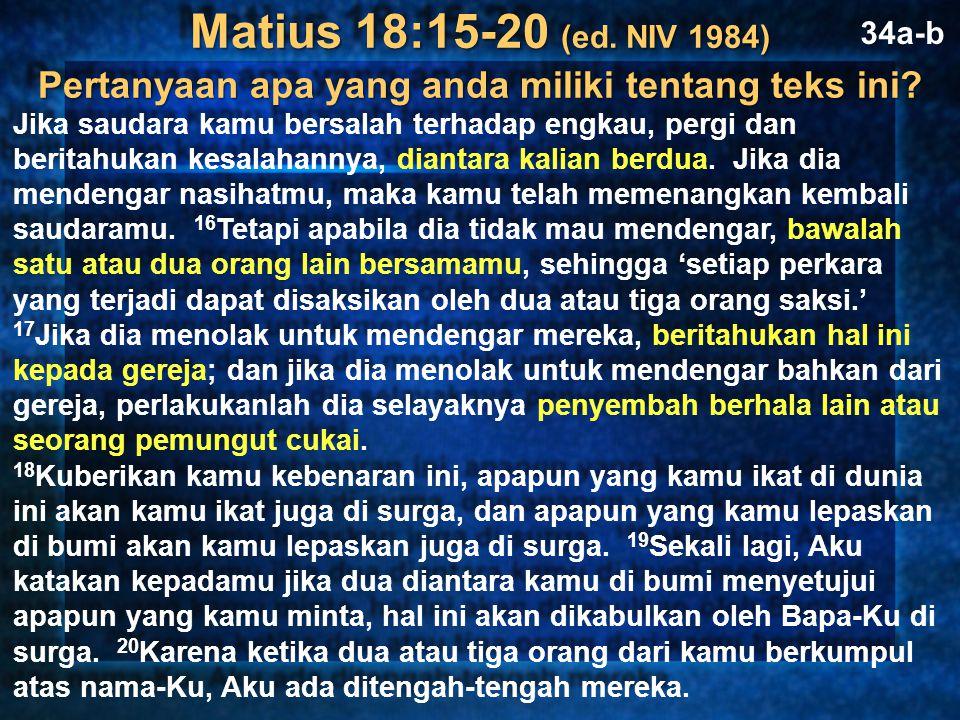 Restore People in Sin Saudara-saudara, kalaupun seorang kedapatan melakukan suatu pelanggaran, maka kamu yang rohani, harus memimpin orang itu ke jalan yang benar dalam roh lemah lembut, supaya kamu juga jangan kena dalam pencobaan. Galatians 6:1 Pulihkan Mereka yang Berdosa