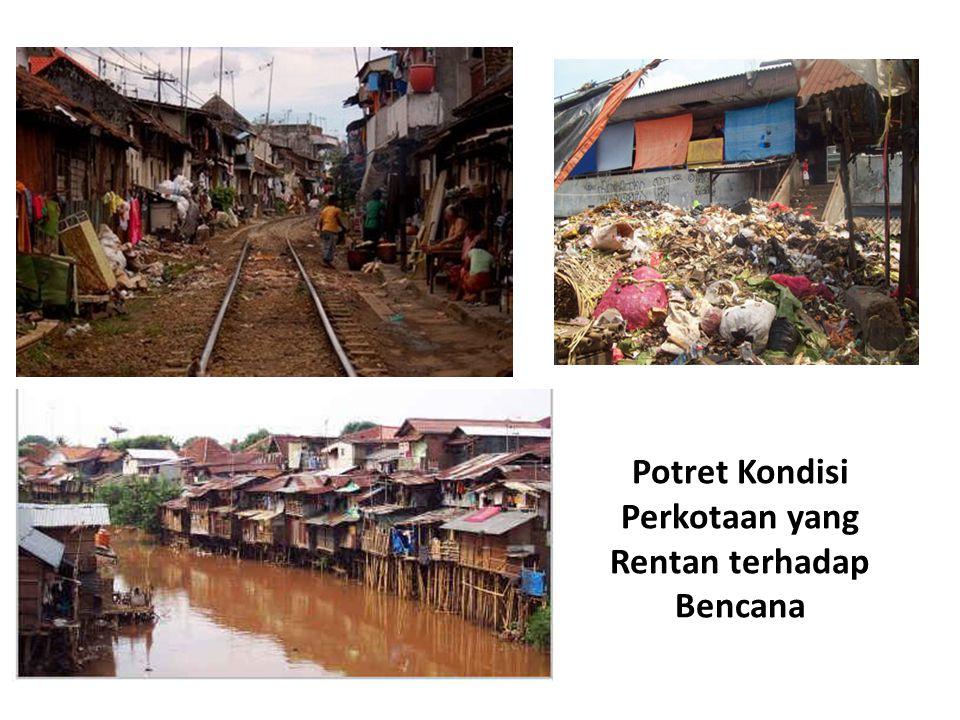 Potret Kondisi Perkotaan yang Rentan terhadap Bencana
