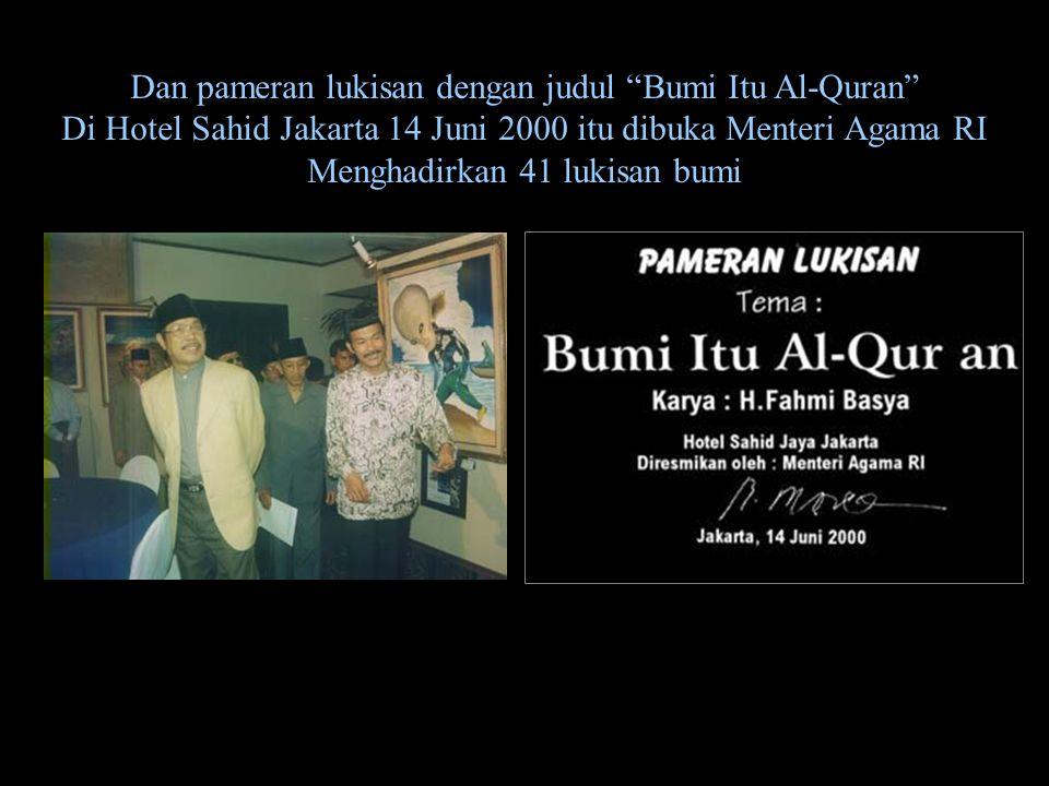 """Disiarkan 16 Mei 1999 oleh TV RI dalam acara DIAN RANA Berikut sebagian yang diucapkan Tia di TV RI itu : """"Saudara,sekilas Lukisan ini tampak seperti"""