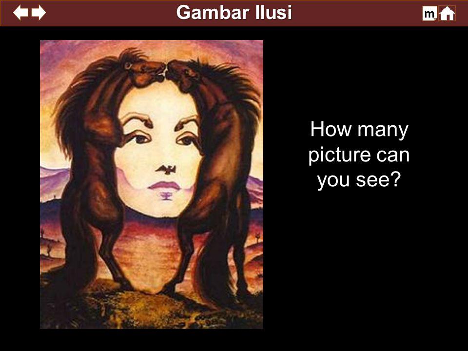 Gambar Ilusi m Teman-teman amati gambar ini baik-baik,,,amati kira-kira 1 menit deh judulnya ganti posisi...