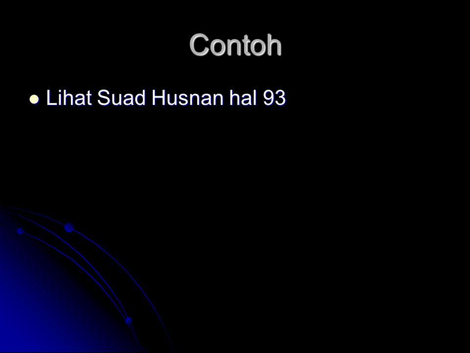 Contoh Lihat Suad Husnan hal 93 Lihat Suad Husnan hal 93