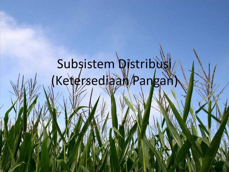 Keadaan konsumsi --- Data konsumsi  BPS (Susenas 3 th/ kali) Keadaan ketersediaan pngn pd tkt konsumsi --- Data ktsd  Deptan + BPS (1 th/ kali)  NBM Neraca Bahan Makanan (NBM) Food Balance Sheet S/ tabel  tdr kolom2  info/ data produksi, p'adaan, ▼ yg t'jd  komoditi t'sedia  u/ dikonsumsi o/ p'duduk s/ daerah pd waktu ttn