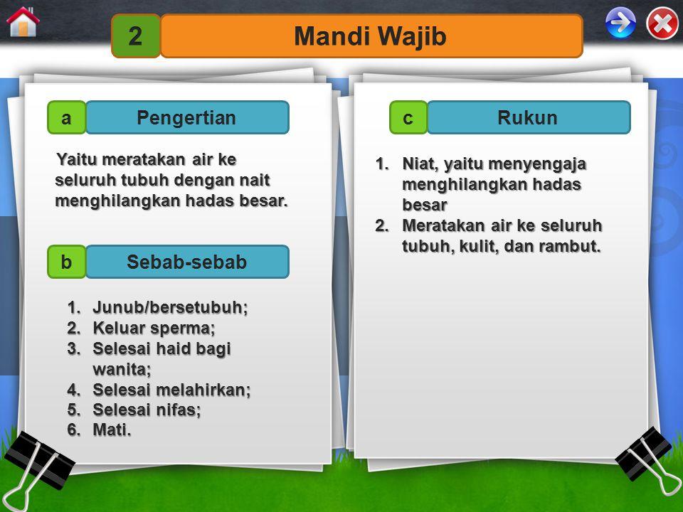 4.Bersuci dari hadas dan najis dalam ilmu fikih disebut...