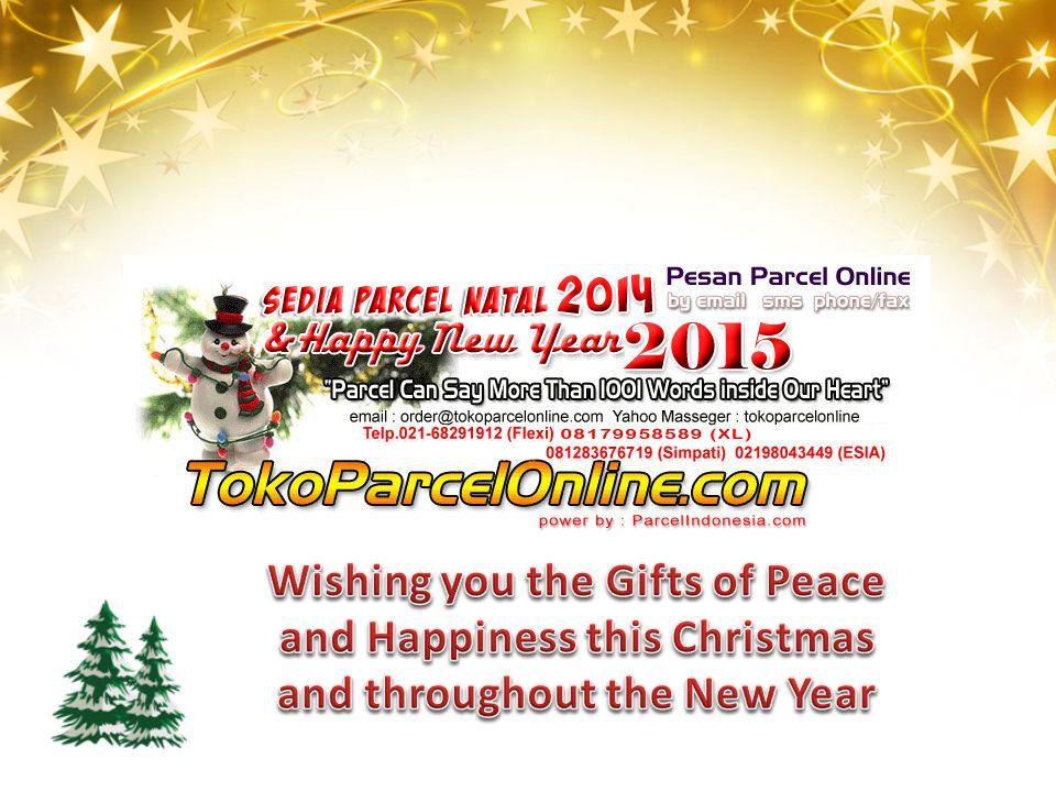 Cocok untuk kado Natal & Tahun Baru 2014 buat teman, kolega bisnis, ataupun keluarga anda (bapak, ibu, kakak, adik, kakek, nenek).