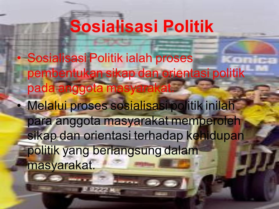 Bentuk Partisipasi Politik
